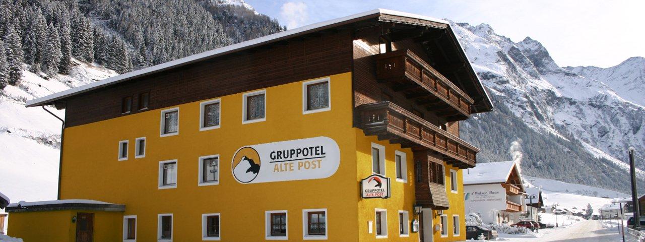 Das Gruppotel Alte Post im Winter, © Gruppotel Alte Post