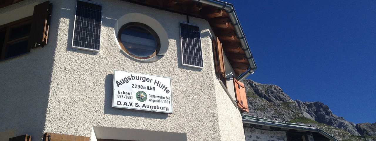 Augsburger Hütte, © Tirol Werbung