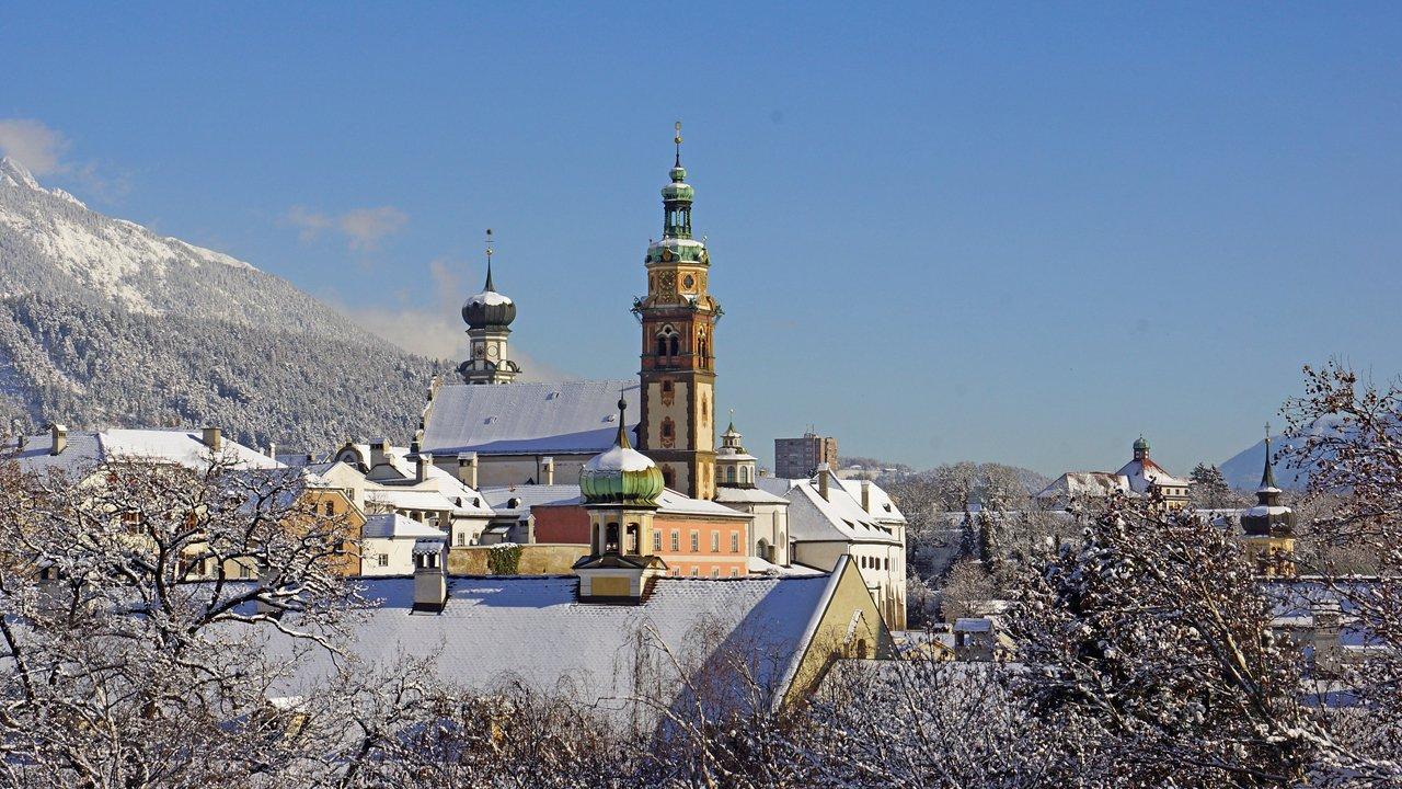 Hall in Tirol im Winter, © Region Hall-Wattens