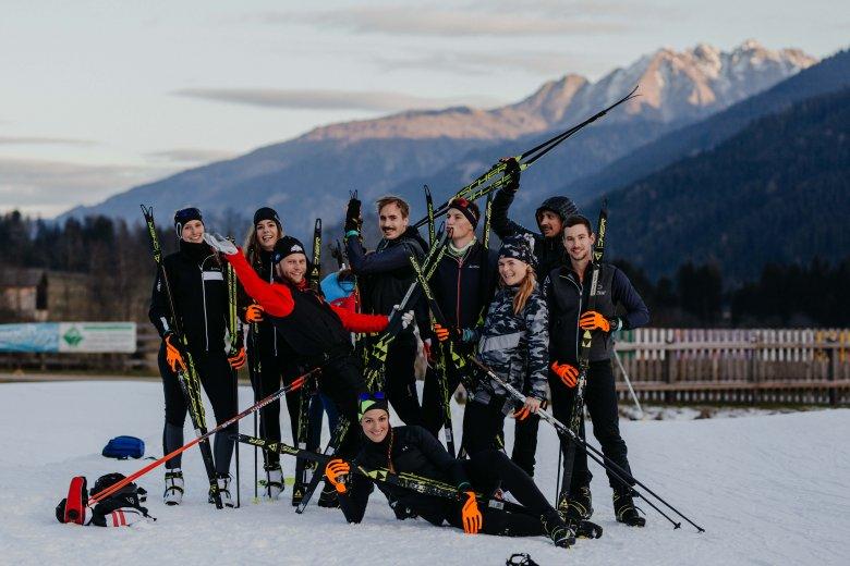 Zum Abschied gibt es natürlich unser obligatorisches Gruppenbild. Alle Fotos: Tirol Werbung/Charly Schwarz
