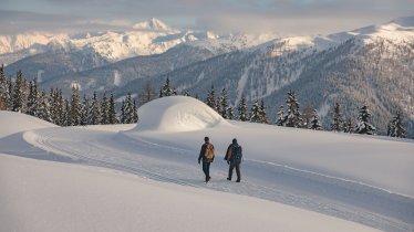 Winterwandern in Kartitsch, © Tirol Werbung / Katharina Poblotzki