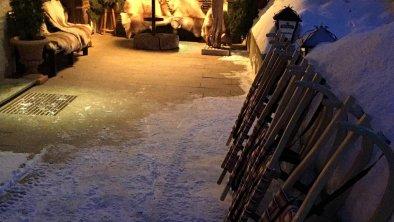 Winterstimmung im Waldhäusl