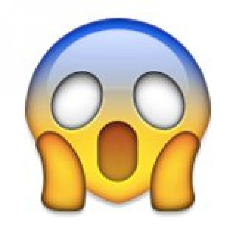 Angst-Emoji