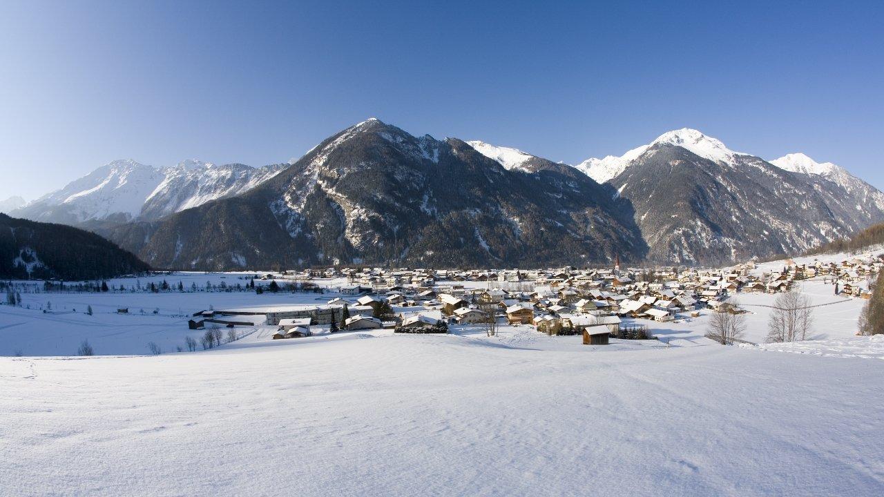 Umhausen im Winter, © Ötztal Tourismus/Bernd Ritschel