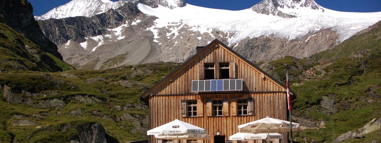 Adlerweg Etappe O1: Johannishuette, © Virgentaler Hütten