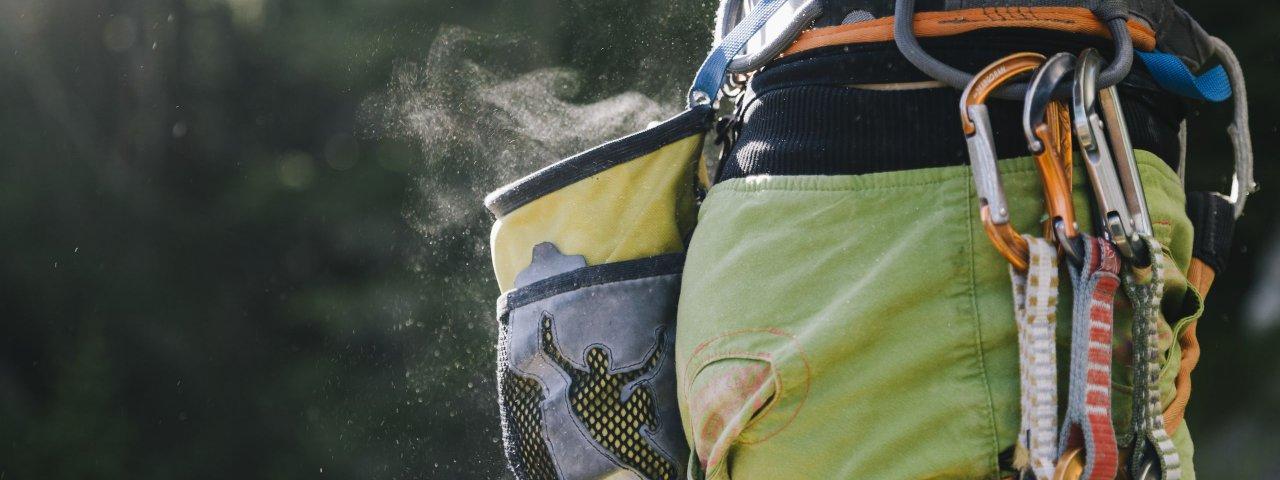 Kletterausrüstung, © Tirol Werbung/Hans Herbig