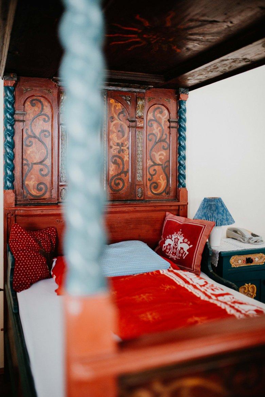 Das Einzelzimmer ist besonders bei alleinreisenden Damen beliebt.