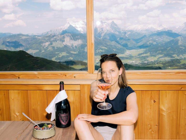 Anke verbringt drei Tage in Kitzbühel, um den Luxus zu leben.