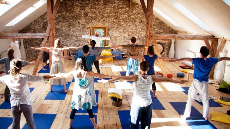 Yoga Kurs im Alpen Retreat , © Alpen Retreat