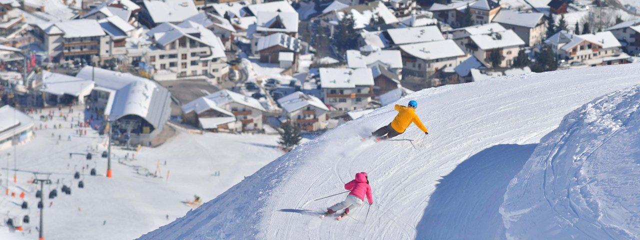 Skifahren in Serfaus-Fiss-Ladis, © Fisser Bergbahnen GmbH, Sepp Mallaun