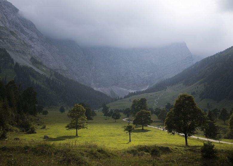 Großer Ahornboden, Vomp, Mautstrasse Hinterriss Eng