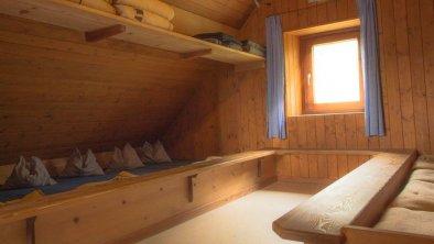 Bettenlager auf der Bettelwurfhütte