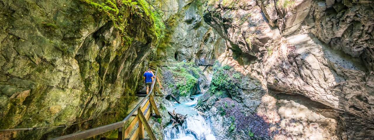 Wolfsklamm, © TVB Silberregion Karwendel