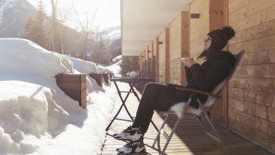 Winter - Terrasse - Neubau