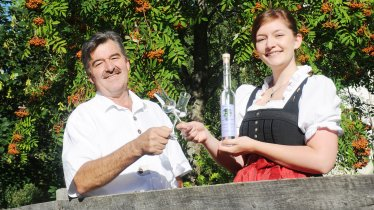 Maria & Franz Hörtnagl, © Agrarmarketing Tirol