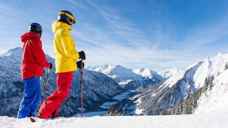 Skifahren im Lechtal, © TVB Lechtal