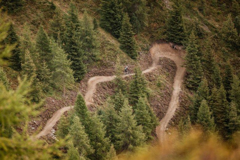 Die Gahe Line in der Bike Republic Sölden (c) Ötztal Tourismus