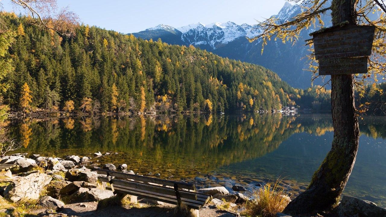 Piburger See in Oetz, © Tirol Werbung / Mario Webhofer