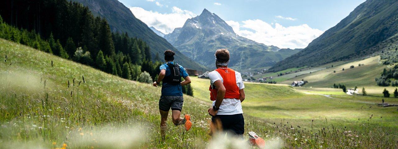 """Die """"Paznaun Challenge"""" führt durch die schönsten Landschaften des Tals - zu Fuß oder auf zwei Rädern, © TVB Paznaun - Ischgl"""