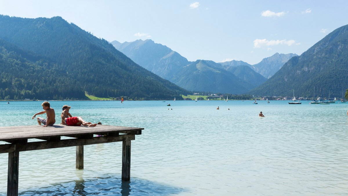Familienurlaub am Achensee, © Tirol Werbung - W9 Studios