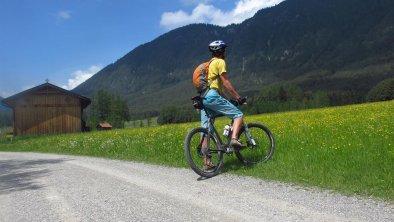 biken am Plateau