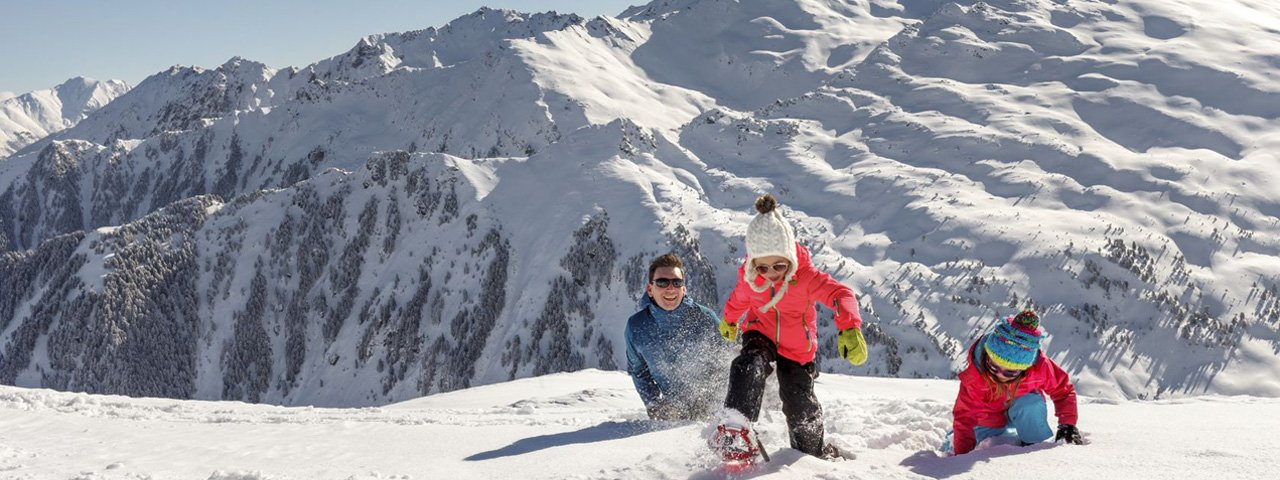 Familienurlaub in Winter in Tirol, © Tirol Werbung/Robert Pupeter