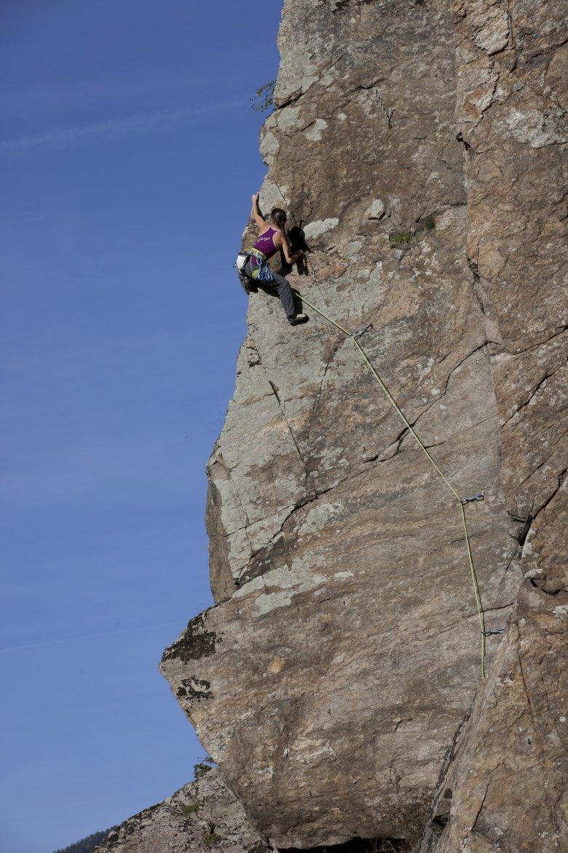 Kletterliebhaber aller Art kommen im Ötztal auf ihre Kosten. Foto: Ötztal Tourismus/Heiko Wilhelm