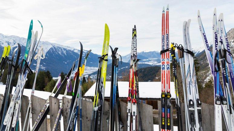 Langlaufskier, © Tirol Werbung/W9 STUDIOS