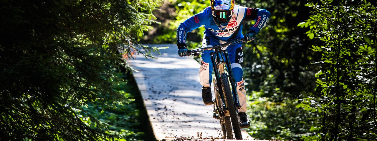 """Singletrail """"The Rough One"""", © TVB Innsbruck/Tommy Bause"""