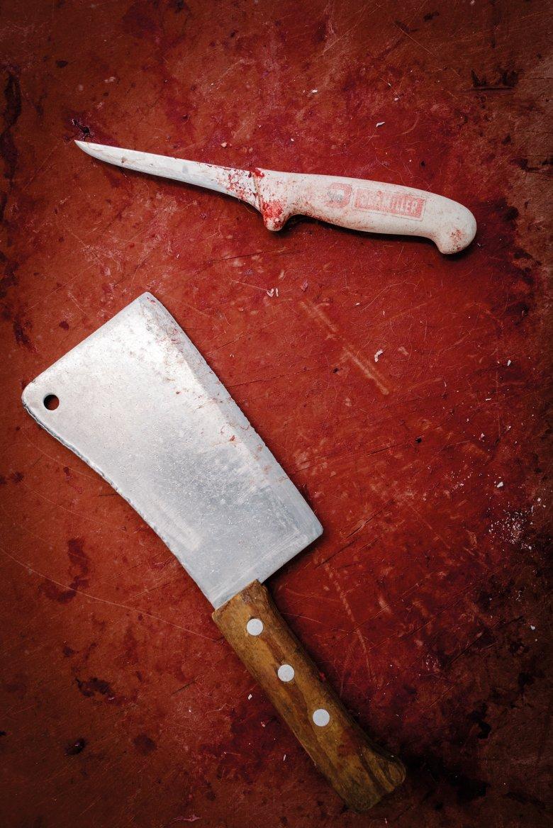 Werkzeug: Scharfe Klingen müssen die Messer und Beile haben.