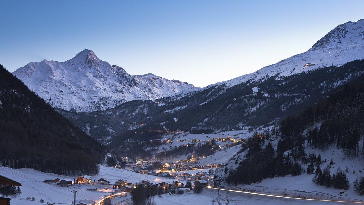 Sölden im Winter, © Ötztal Tourismus/Rudi Wyhlidal