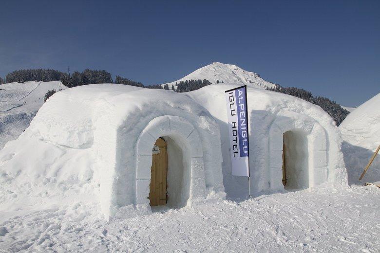 Keine Sorge, Übernachtungsgäste erhalten kuschelige Thermo-Schlafsäcke gegen die Kälte! © Alpeniglu