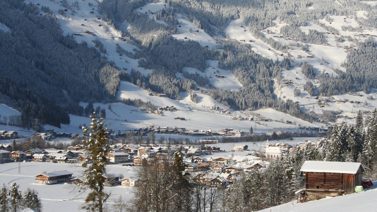 Ramsau im Winter, © Archiv Gemeinde Ramsau Zillertal