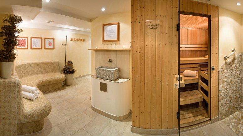Saunabereich im Biohotel Schweitzer in Mieming, © Biohotel Schweitzer