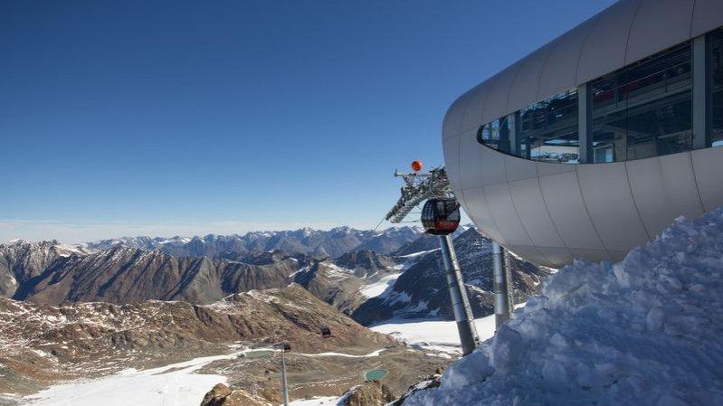 Gletscherbahn Wildspitzbahn, © Pitztaler Gletscher