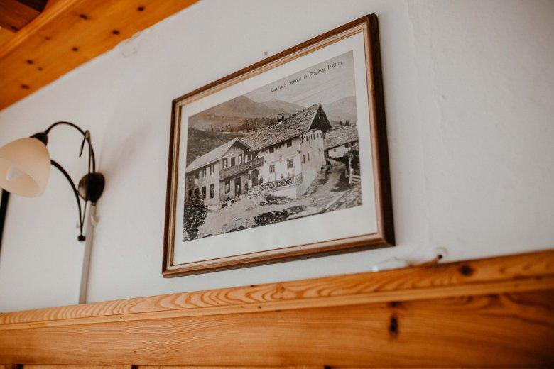 Der damalige Alpengasthof.