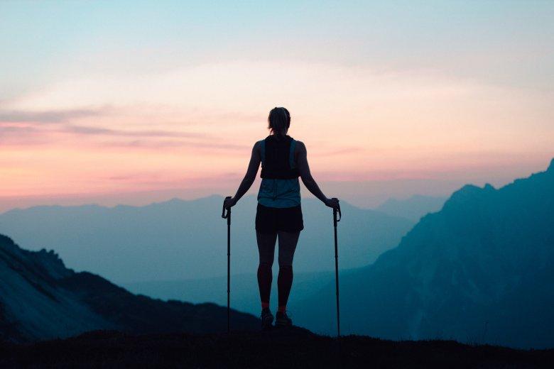 Beim Trailrunning hinterlässt man keinen umweltschädlichen Fußabdruck. , © Ramon Haindl