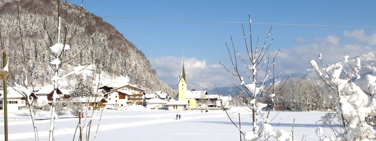 Walchsee im Winter, © Kaiserwinkl