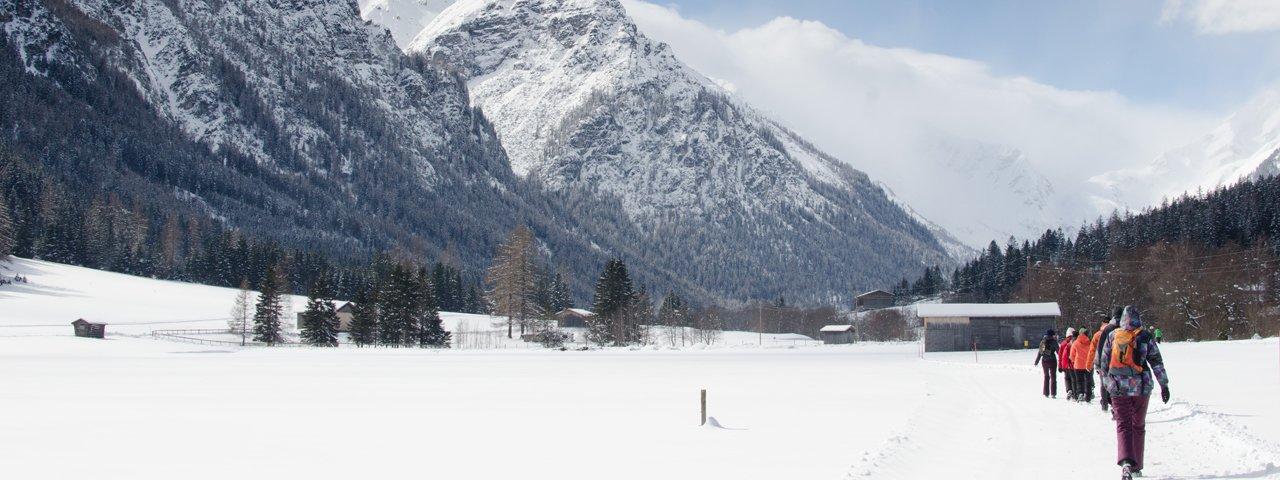 Winterwanderung von Trins ins Gschnitztal, © Joakim Strickner