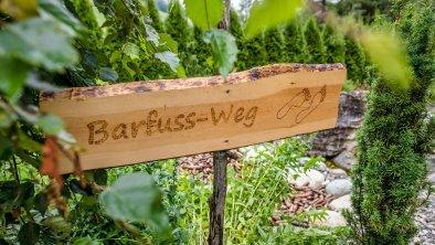 Barfuss Weg Vierjahreszeiten