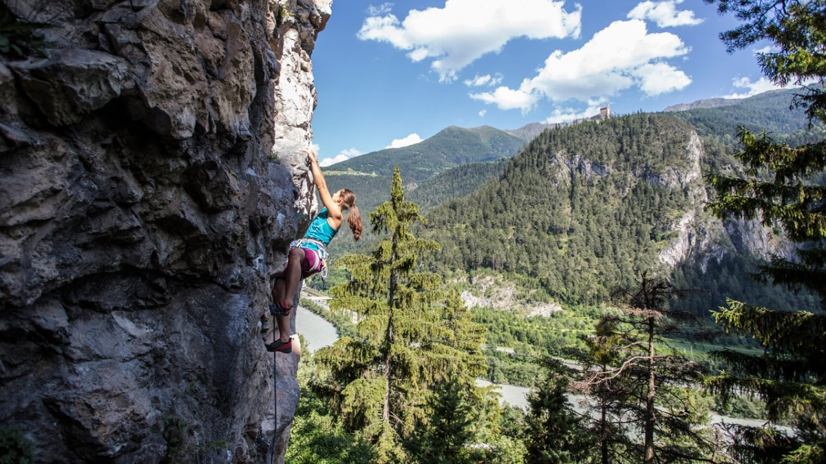 Klettern in der Ferienregion TirolWest, © Archiv TVB TirolWest/Daniel Zangerl