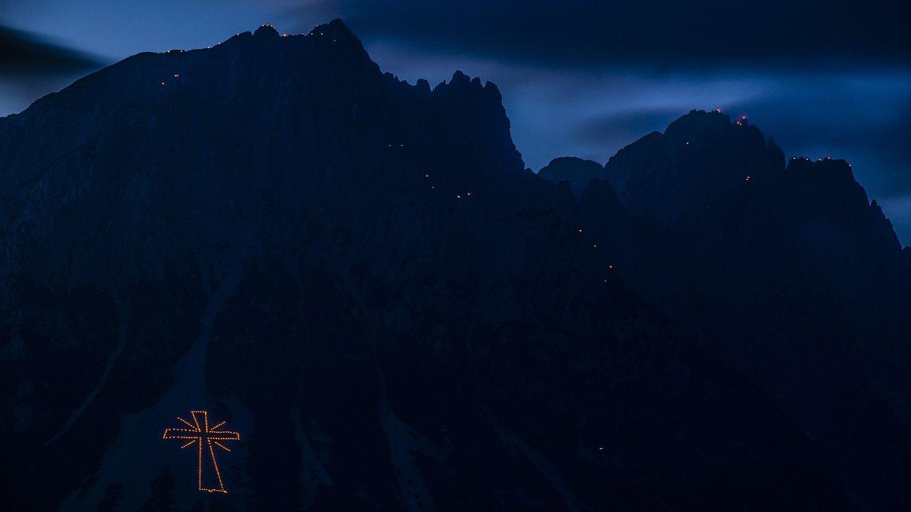 Sonnwendfeuer am Wilden Kaiser, © TVB Wilder Kaiser