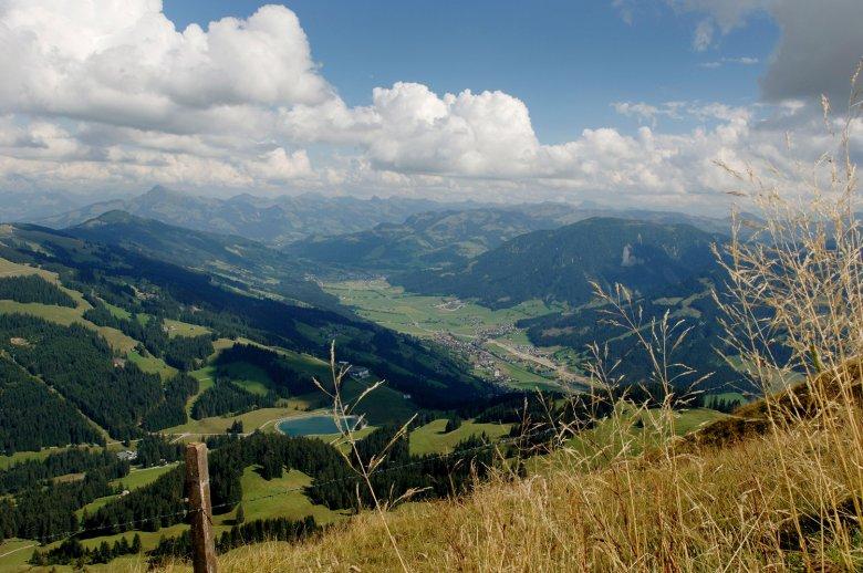 Blick aufs Brixental.