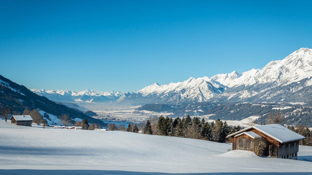 Weerberg im Winter, © TVB Silberregion Karwendel