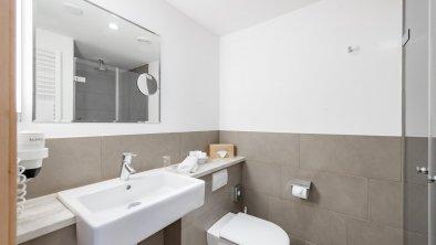 Badezimmer Einzelzimmer Sonnenaufgang Grand Lit