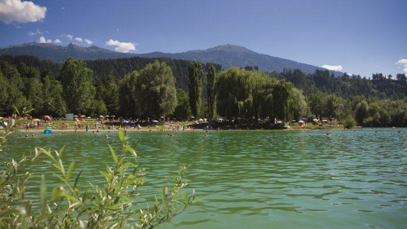 Baggersee Rossau, © Innsbruck Tourismus / Tommy Bause