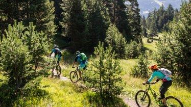 Singeltrails in Nauders, © Tirol Werbung / Haiden Erwin - bikeboard
