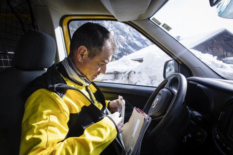 Seitseit sieben Jahren bringt Harald die Post ins Kaunertal.