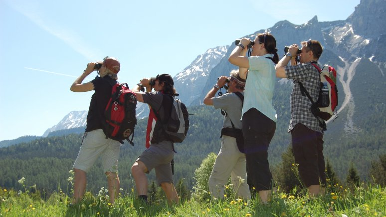 Nature Watch im Hotel Leutascherhof, © Tirol Werbung