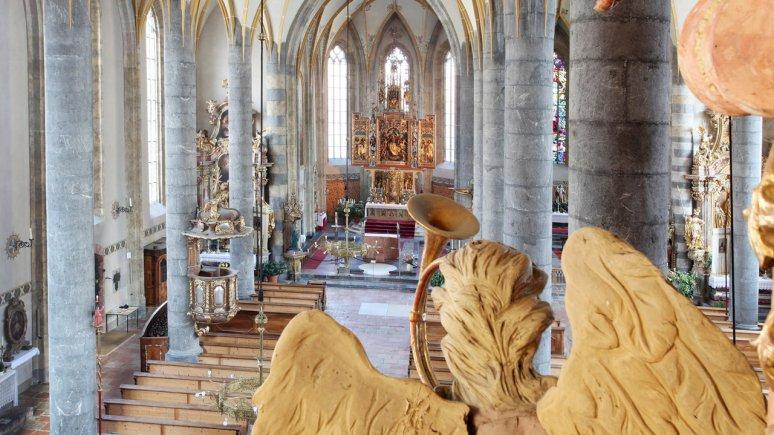 Pfarrkirche Schwaz, © Tirol Werbung - Bernhard Aichner
